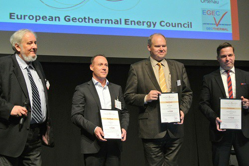COMACCHIO'S NEW GEO 700 GT ENJOYS SUCCESS AT GEOTHERM IN OFFENBURG_immagine