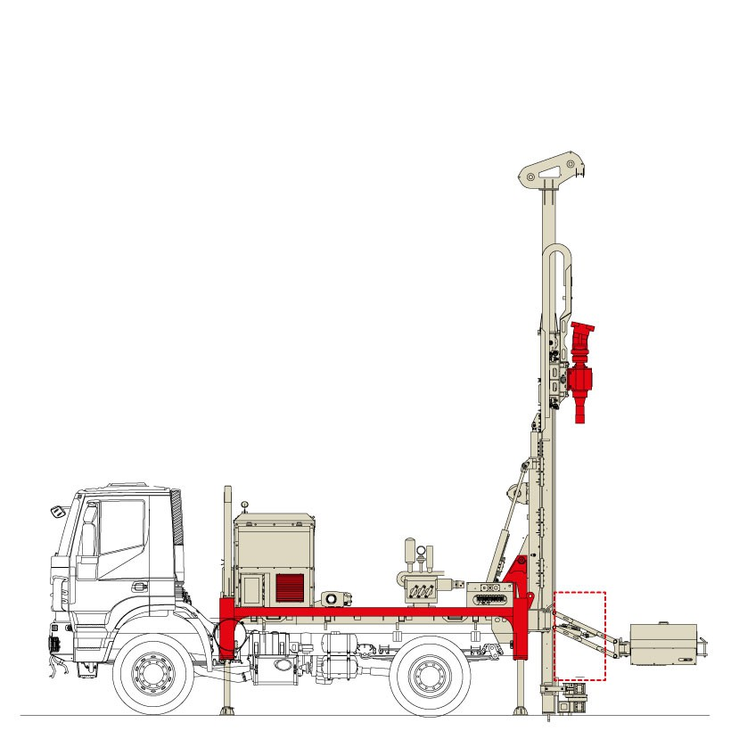 Drilling Rigs | Comacchio Drill Rig | Truck Mounted Drilling